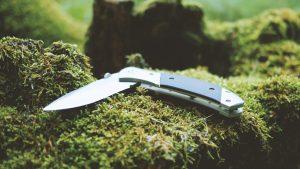 straight edge pocket knife